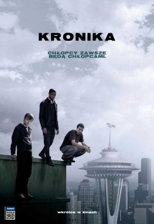 Kronika (2012) Chronicle, Kronika temna