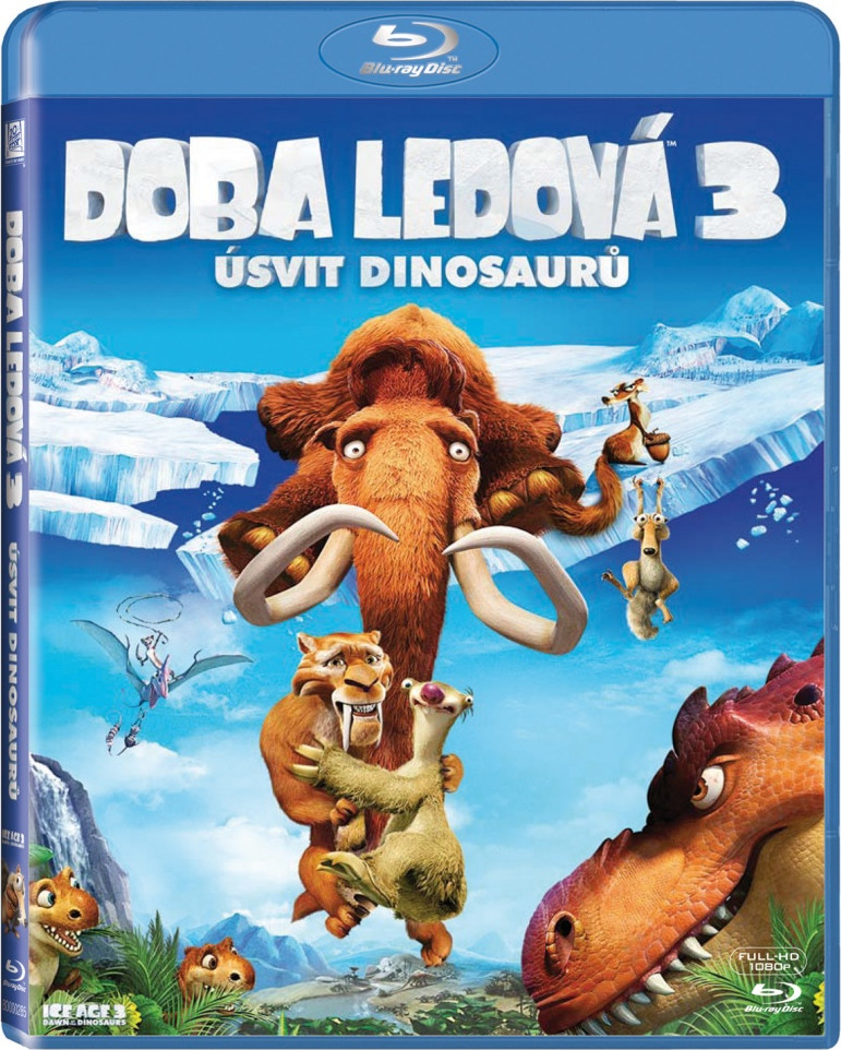 Doba ledová 3: Úsvit dinosaurů online