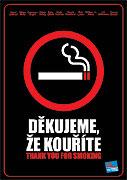 Děkujeme, že kouříte online