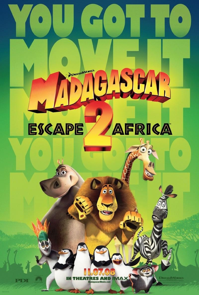 Madagaskar 2: Útěk do Afriky